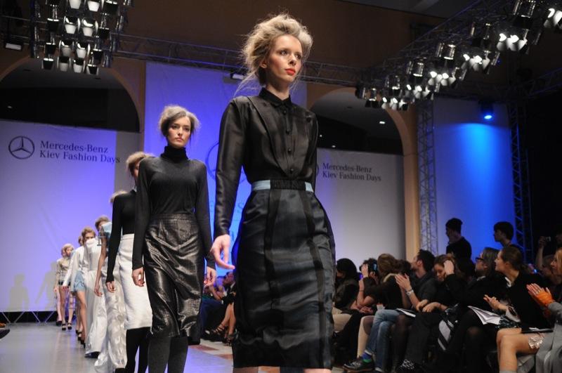 Коллекция SMOLNY сезона осень-зима 2012/2013 от дизайнер Мария Бех (бренд BEKh) на Mercedes Benz Kiev Fashion Days. Фото: Владимир Бородин/The Epoch Times Украина