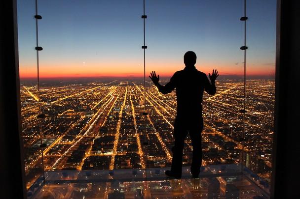 Если бы я умел летать. Башня-небоскрёб Уиллис-тауэр, Чикаго, США. Фото: Gustavo Santos/travel.nationalgeographic.com