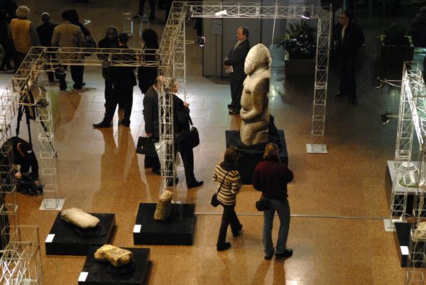 В Киеве в Украинском Доме открыли скульптурный салон. Фото: Владимир Бородин/The Epoch Times