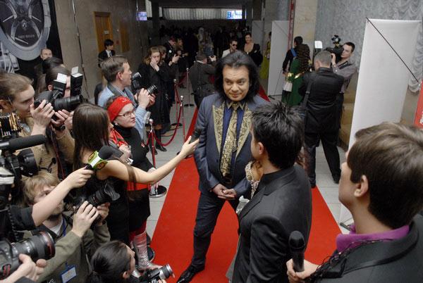 Филипп Киркоров в Киеве на награждении победителей общенациональной программы «Человек года 2008». Фото: Владимир Бородин/The Epoch Times