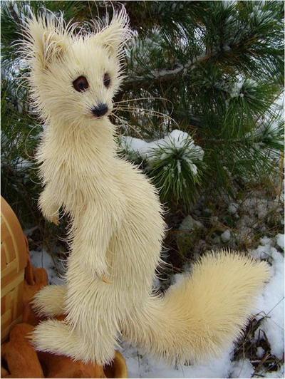 Снежный соболёк. Сибирский кедр, ива. Дмитрий Пономарев/The Epoch Times