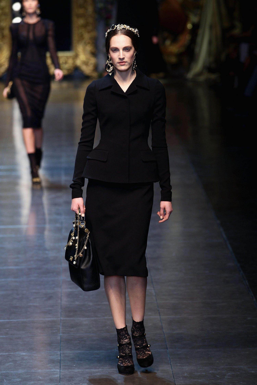 Dolce&Gabbana на Неделе моды в Милане. Фото: GIUSEPPE CACACE/AFP/Getty Images