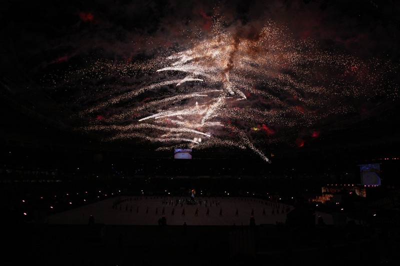 Стадіон «Олімпійський» відкрився в Києві після реконструкції. Фото: Євген Довбуш/The Epoch Times Україна