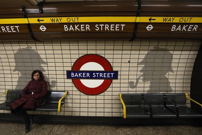 Лондон, Англія, 9січня. Станції метрополітену «Бейкер-стріт» виповнилося 150років. Фото: Dan Kitwood/Getty Images