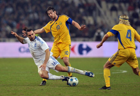 Греція – Україна фото:ARIS MESSINIS,LOUISA GOULIAMAKI /Getty Images Sport