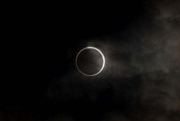 Токіо: сонячне затемнення, 21 травня 2012 Фото: Yuki Tanaka/Getty Images