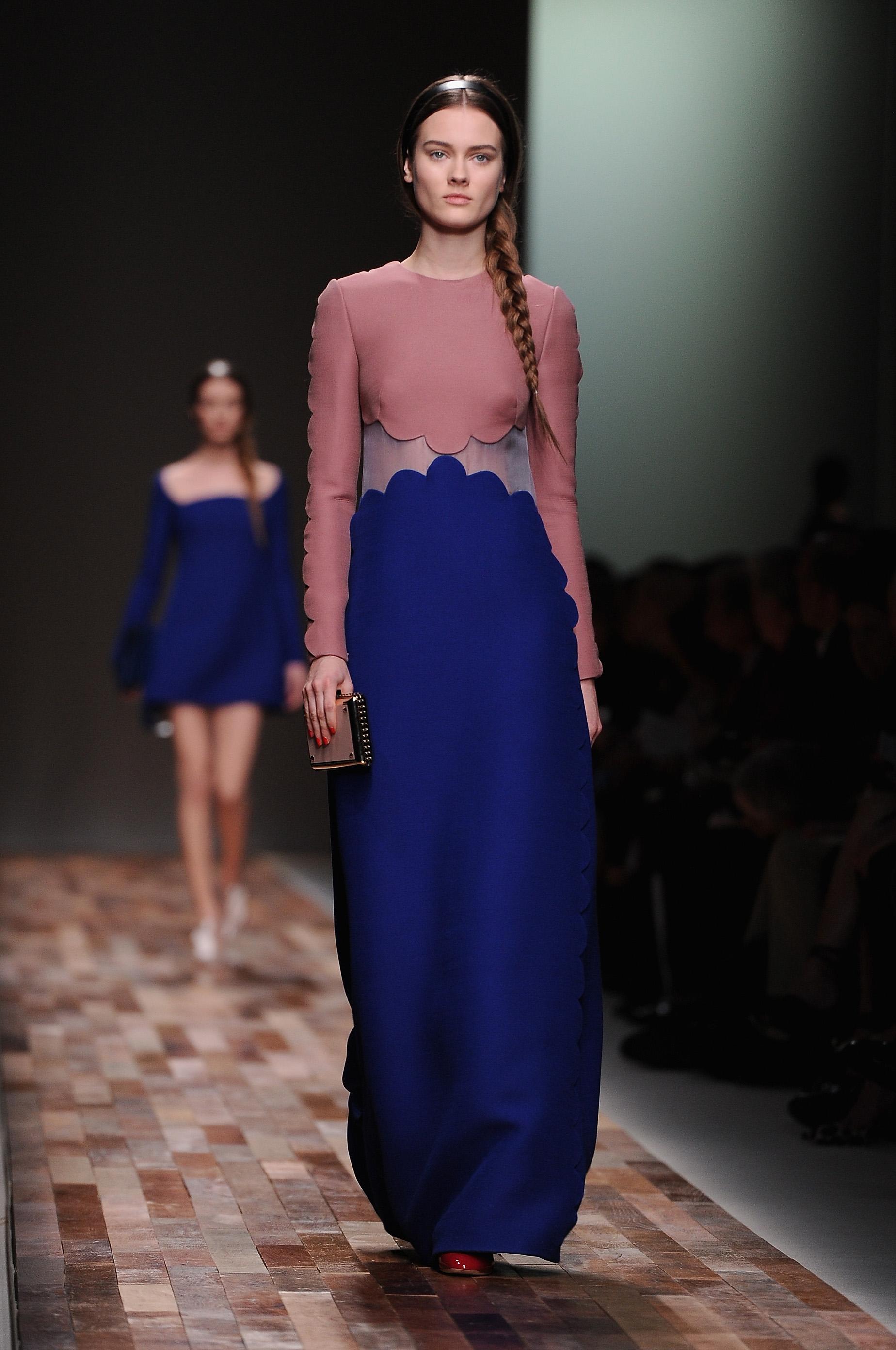 Коллекция от Valentino на Парижской неделе моды. Фото: Pascal Le Segretain/Getty Images