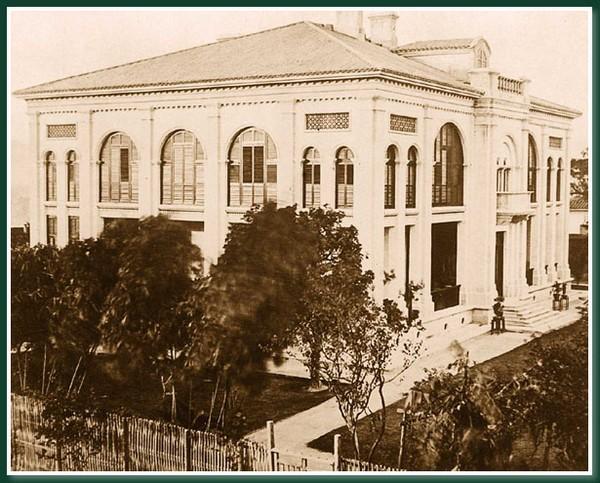 Консультсво Великобритании. Город Фучжоу. 1860 год. Фото: Теодор Джонс