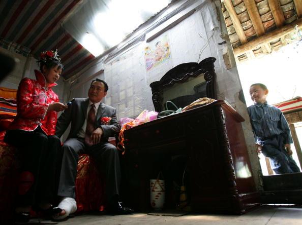 Гости. Фото: China Photos/Getty Images