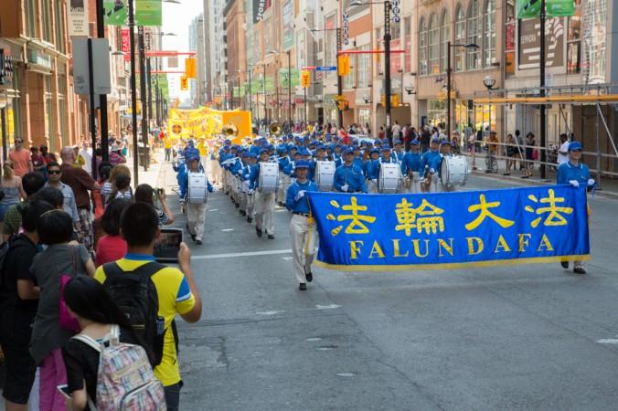 Торонто, Канада. День памяти погибших от репрессий практикующих Фалунь Дафа. Фото: Великая Эпоха