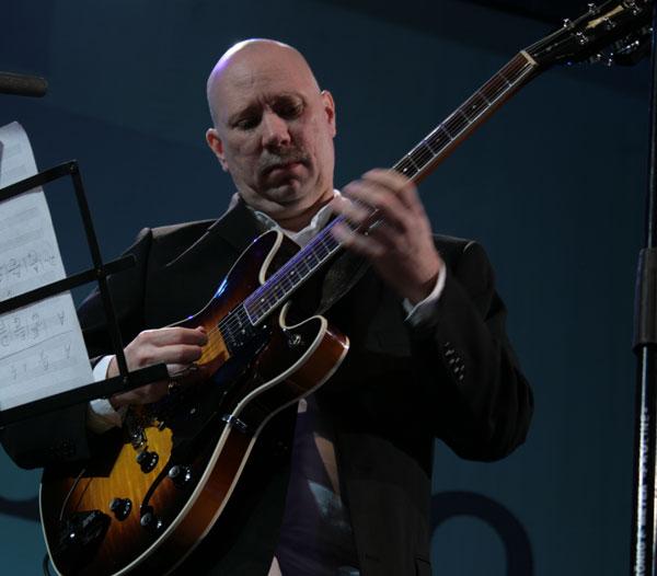 Paul Bollemback - мастер джазовой гитары. /фото:Катерина Кушнаренко