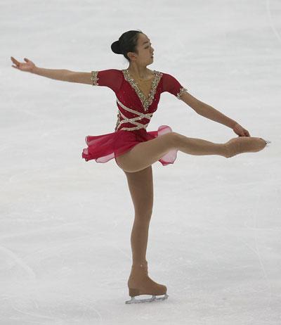 Произвольная программа на этапе Гран-При 2006-2007 NHK Trophy в Нагано (Япония). Фото: Koichi Kamoshida/Getty Images