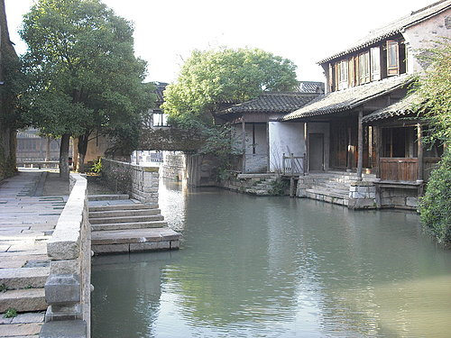 Древний посёлок Учжэнь. Фото с kanzhongguo.com