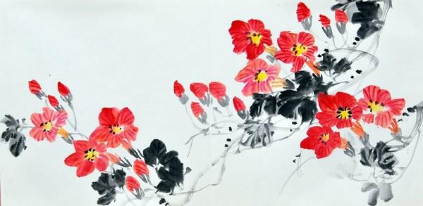 Значення кольору в китайському живописі. Зі збірки картин «Квіти і плоди», написаних художником Жу І в стилі «гохуа». Зображення: EpochTimes.com