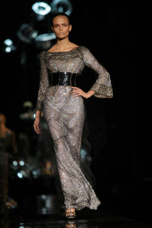 The Dolce & Gabbana: женская коллекция ready-to-wear осень-зима 2007. Фото: Giuseppe Cacace/Getty Images