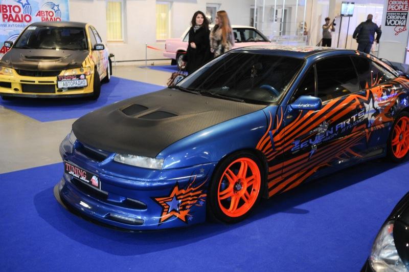 Выставка автомототюнинга Tuning Motor Show открылась в Киеве 22 марта. Фото: Владимир Бородин/Великая Эпоха