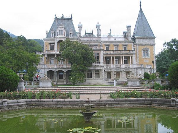 Масандрівський палац. Фото: crimea-on-line.ru