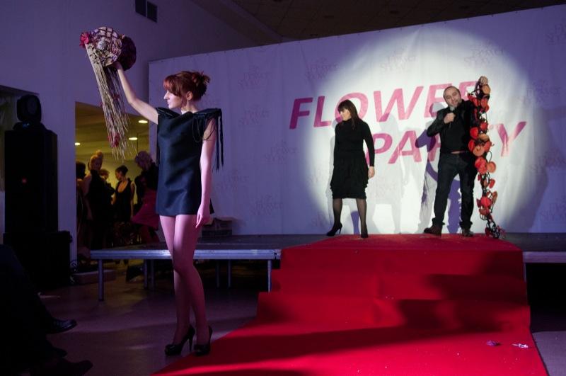 Показ авторских букетов прошёл в рамках фестиваля цветочных идей Flower Party в Киеве 4 февраля 2012 года. Фото: Владимир Бородин/The Epoch Times Украина