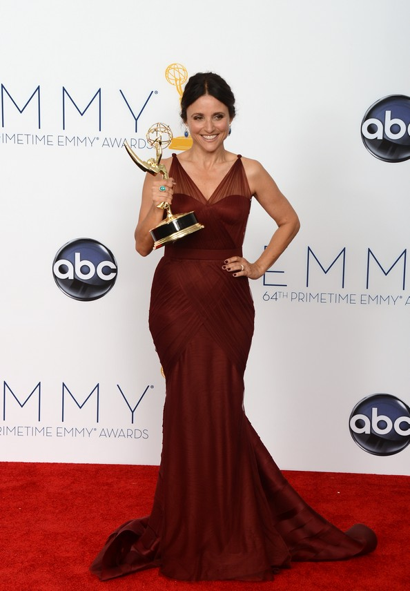 Розкішні сукні знаменитостей на Еммі-2012. Фото: JOE KLAMAR/AFP/GettyImages