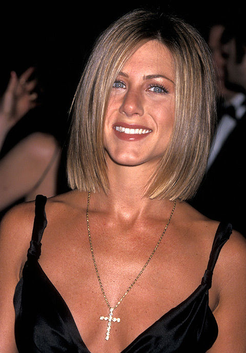 Акторка Дженніфер Еністон на церемонії нагородження People's Choice Awards (Вибір року), січень 1999 року. Фото: Ron Galella, Ltd./Wireimage