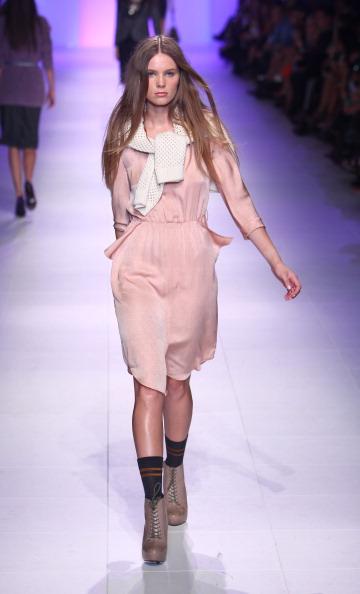 Кейт Сильвестр (Kate Sylvester) на ежегодном фестивале моды L'Oreal 2011 в Мельбурне: день 5. Фото: Marianna Massey/Getty Images