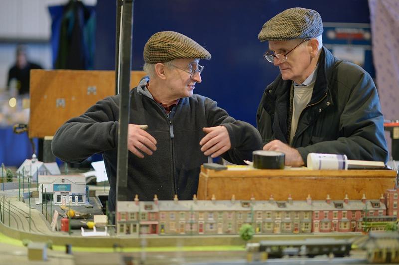 Виставка моделей залізниць у Глазго. Фото: Jeff J Mitchell/Getty Images