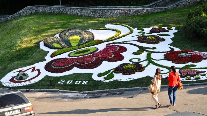 Київ: виставка квітів відкрилася до Євро-2012. Фото: Володимир Бородін/EpochTimes.com.ua