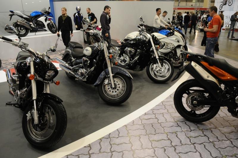 Выставка Мотобайк-2012 открылась в Киеве 26 апреля. Фото: Владимир Бородин / The Epoch Times Украина