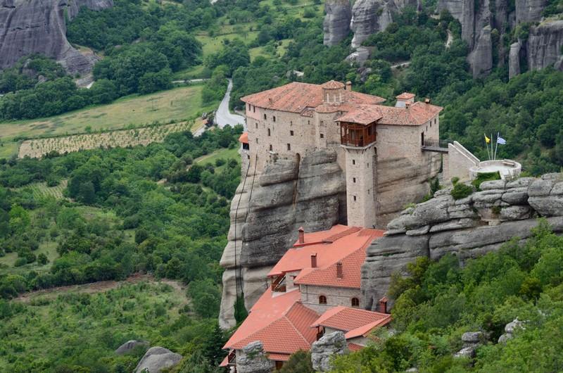 Визначні місця Греції: монастирі Метеори. Фото: Олександр Григор'єв