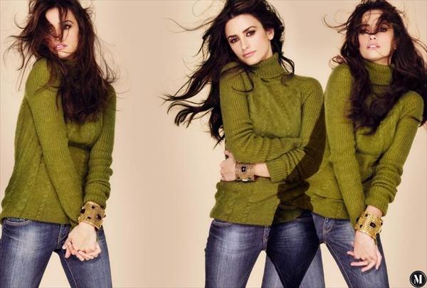 Пенелопа Крус (Penelope Cruz) для осенне-зимней коллекции Mango 2008/2009.
