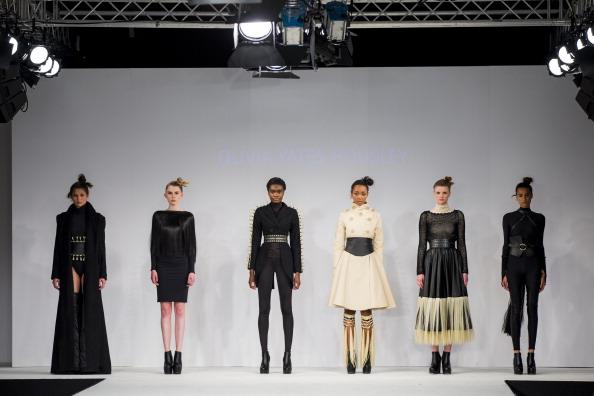 Модные показы на Graduate Fashion Week 2014в Лондоне. Фото: Tristan Fewings/Getty Images