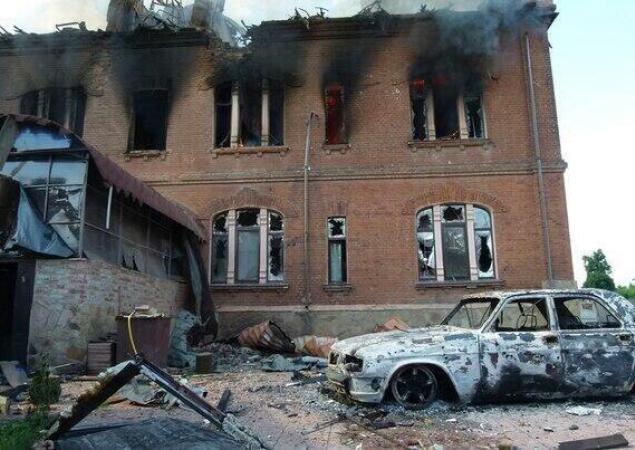 Славянск, 9 июня. Фото: sprotyv.info