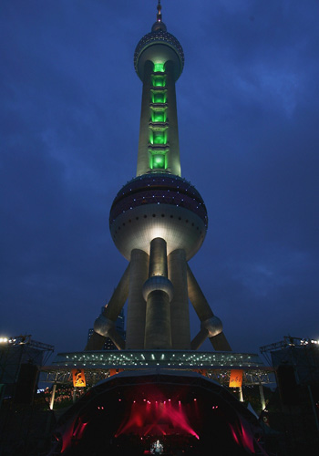 Oriental Pearl TV Tower в Шанхаї (Китай). Фото: Guang Niu / Getty Images