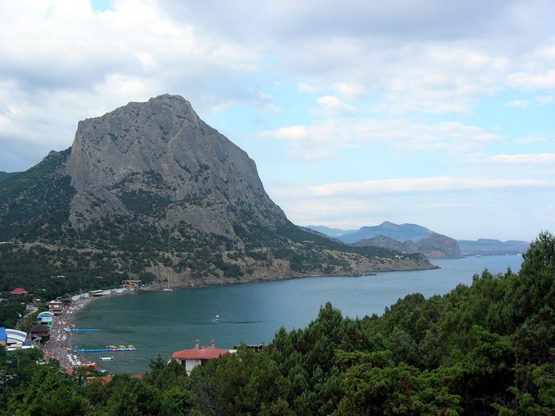Крым, Новый свет, вид на Зелёную бухту с горы Орел. Фото: Алла Лавриненко/Великая Эпоха