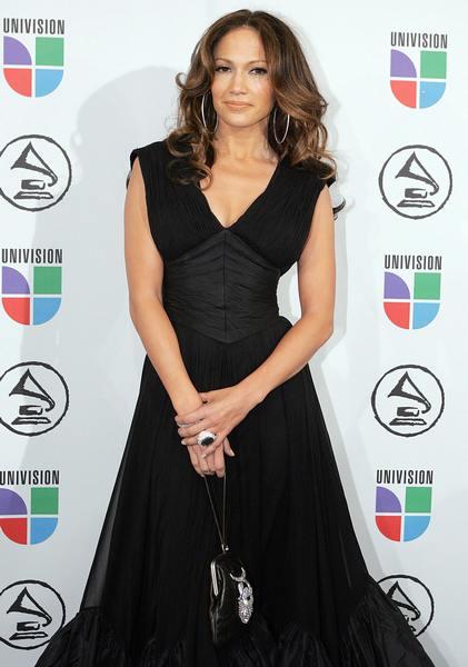 Співачка на 7-му щорічному Латинському вручення премії «Греммі», 2 листопада 2006 року в Нью-Йорку. Фото: DON EMMERT / AFP / Getty Images