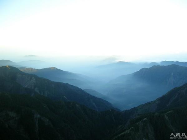 Фото: The Epoch Times. Гора Юйшань. Китайська Республіка (Тайвань).