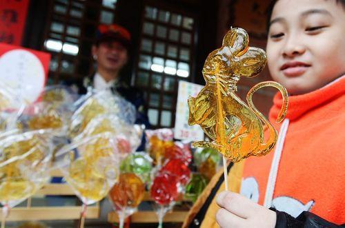 Тайбэй. Леденцы в виде мыши. Фото: Центральное агентство новостей