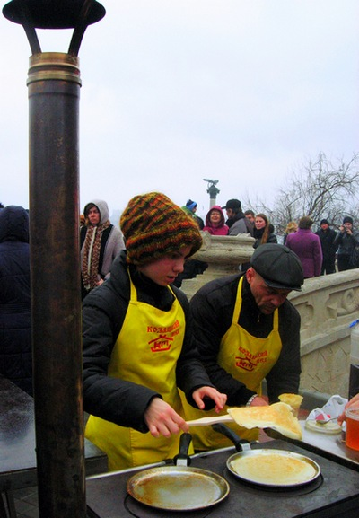 Рекорд по чаепитию в Севастополе. Фото: Алла Лавриненко/The Epoch Times