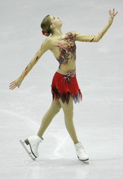 Каролина Костнер (Италия) исполняет короткую программу. Фото: Chung Sung-Jun/Getty Images