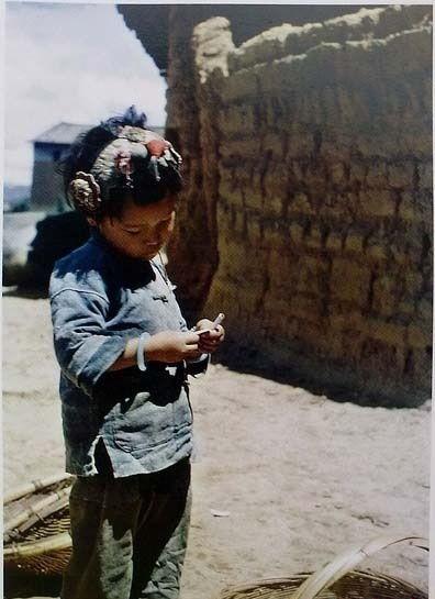 Маленька мешканка міста Куньмін. Провінція Юньнань в 1945 році