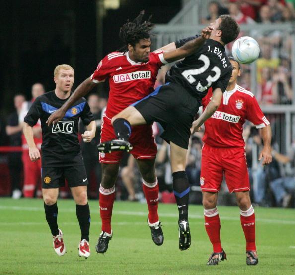 Эванс,Брено Бавария - Манчестер Юнайтед /Getty Images