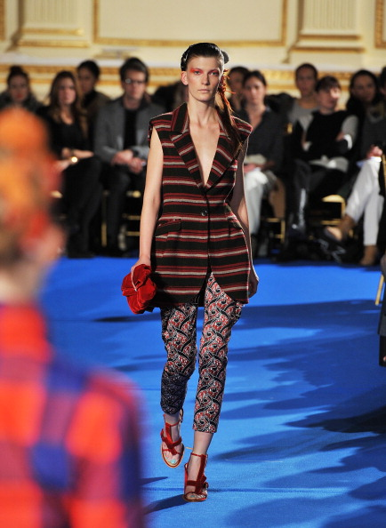 Thakoon на Fashion Week Mercedes-Benz. Фото: Slaven Vlasic/Getty Images