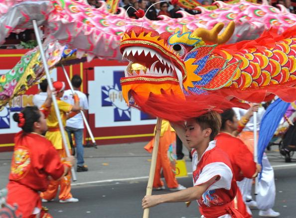 Торжества в честь празднования 100-летия Синьхайской революции в Тайбэе. Фото: AFP/Getty Images