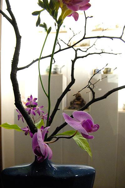 Выставка икебаны в Киеве. 5 марта 2010 года. Фото: Владимир Бородин/The Epoch Times