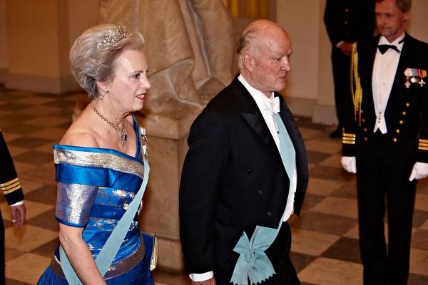 Королева Дании Маргарита отпраздновала свой 70-летний юбилей. Принцесса Бенедикт и принц Ричард. Фоторепортаж. Фото: Schiller Graphics/Getty Images
