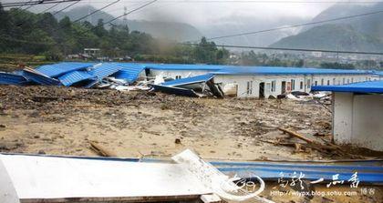 Сильные ливни обрушились на провинцию Сычуань. Фото с epochtimes.com