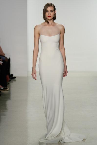 Свадебная мода 2015 от Amsale. Фото: Randy Brooke/Getty Images