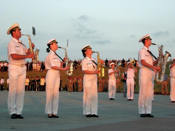 Фестиваль військових оркестрів у Севастополі. Фото: Алла Лавриненко/The Epoch Times Україна