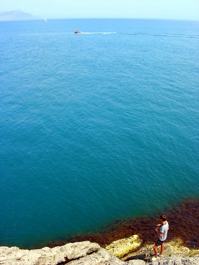 Новий світ, Крим, вид на море з висоти стежки Голіцина. Фото: Алла Лавриненко/Велика Епоха