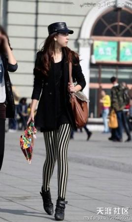 Стильно одетые женщины идут по оживлённым улицам Харбина, июнь 2012 года. Уже 2-й год подряд Харбин признали городом, в котором живут самые красивые женщины Китая. Фото: my.tianya.cn
